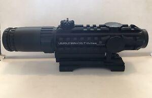 Leupold Mark 4 CQ/T 1-3x14mm Rifle Scope + ARMS Mount