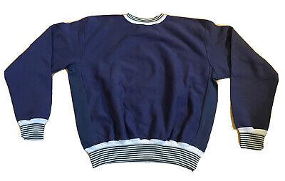 Vintage 90s 80s Paolo Gucci Blue Pullover Sweatshirt Crewneck Mens 2XL