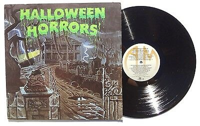 J ROBERT ELLIOTT Halloween Horrors THE SOUNDS OF HALLOWEEN LP A&M US 1977 NM+ - Halloween Horrors The Sounds Of Halloween