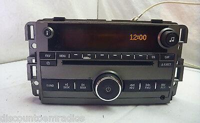 08-09 Saturn VUE AM FM Radio Cd Mp3 Player 25875839  C55944 Saturn Vue Radio