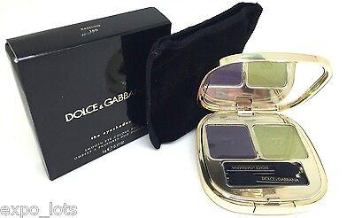 Dolce & Gabbana The Eyeshadow Smooth Eye Colour Quad 160 DAZZLING 0.16 oz -BOXED