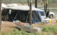 Austrailers 2008 Off Road Camper Trailer + Stacer tinny and motor Kippa-ring Redcliffe Area Preview