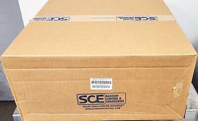 24x24x10 Saginaw Enviroline Series Enclosure Nema 3r41213 New Free Ship