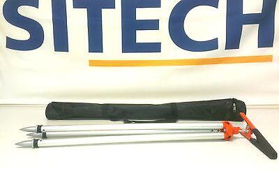 Alligator Clamp Tripod Holds Prism Gps Pole Seco Leica Cst Topcon Trimble Survey