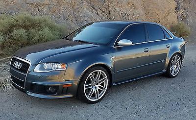 2008 Audi RS4  2008 Audi RS4 RS 450 HP 81K Original Miles