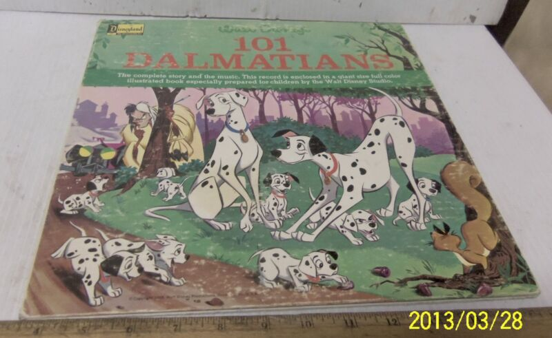 "Walt Disney's ""101 Dalamations"" Story and Music - Record Album"