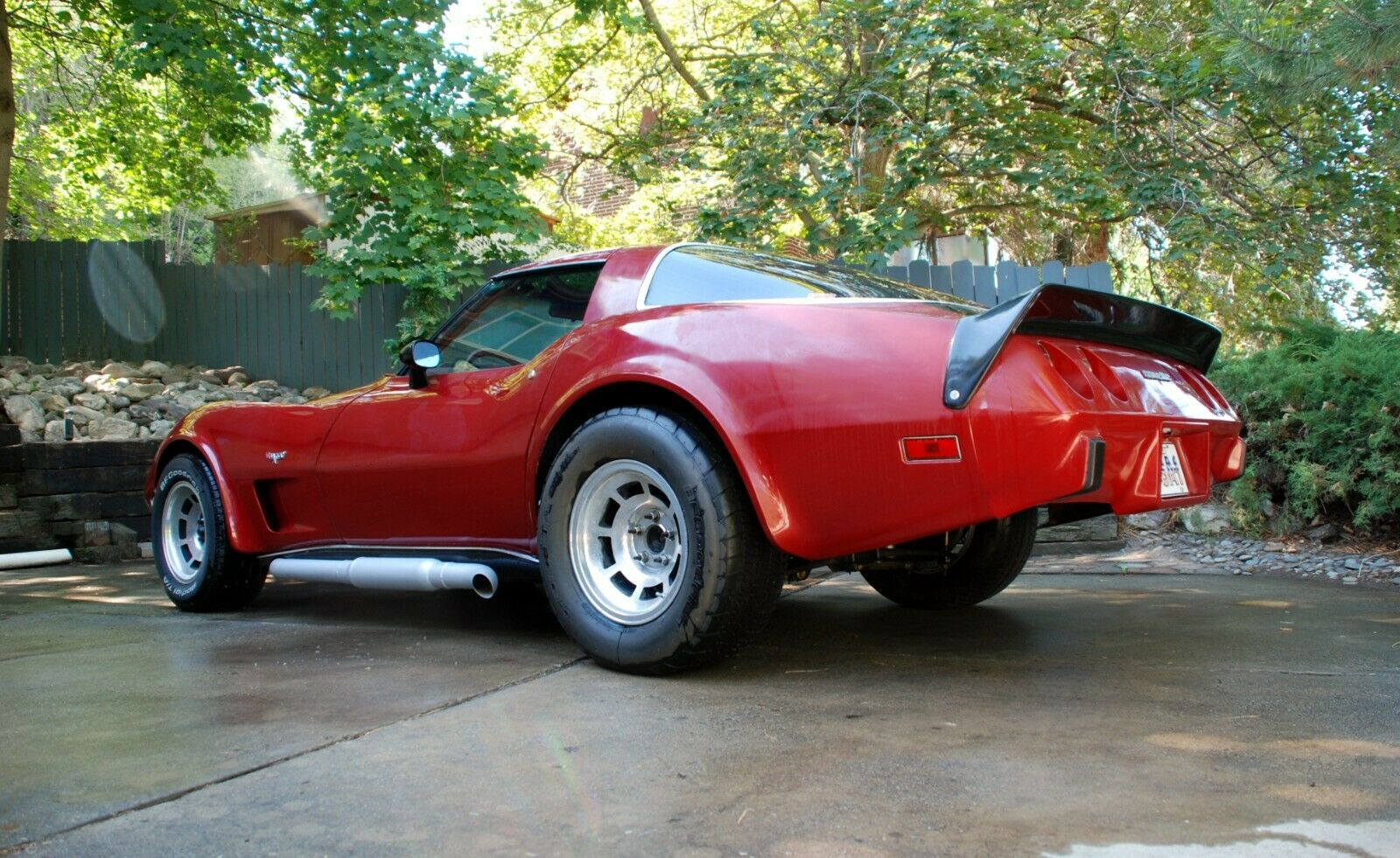 1978 Red Chevrolet Corvette     C3 Corvette Photo 1