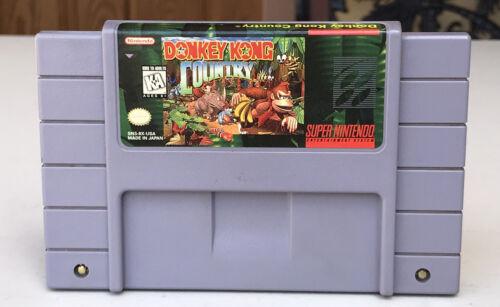 Super Nintendo SNES Donkey Kong Country Super Nintendo, 1994 Cartridge Only - $22.00