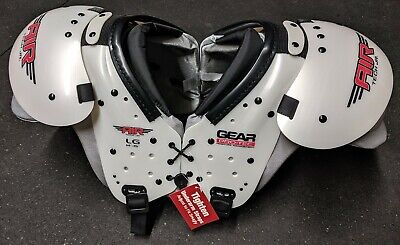 - Gear Pro Tec Football Shoulder Pads Air Tech Jr Youth Size Large 14-15 (115-140)