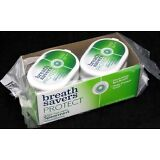 Breath Savers Protect Spearmint Mints Candy Sugar Free Breathsavers 6 Count Box