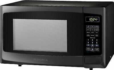 Insignia- 0.9 Cu. Ft. Microwave - Black