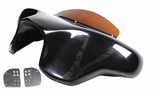 Yamaha Roadstar Motorcycle Fairing 1600/1700 2 Speaker Batwing Gelcoat