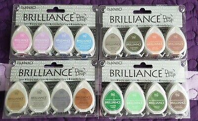 Brilliance Dew Drop Pigment Ink - Tsukineko Brilliance Dew Drop Fast Drying Pigment Ink *Free Ship*