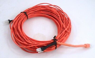 New Unused 75 182 Speaker Or Thermostat Control Wire - Orange - Made In Usa