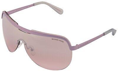 Michael Kors Sweet Escape Sunglasses MK1017 11387E Lavender Violet Silver Lens   Lavender Womens Sunglasses