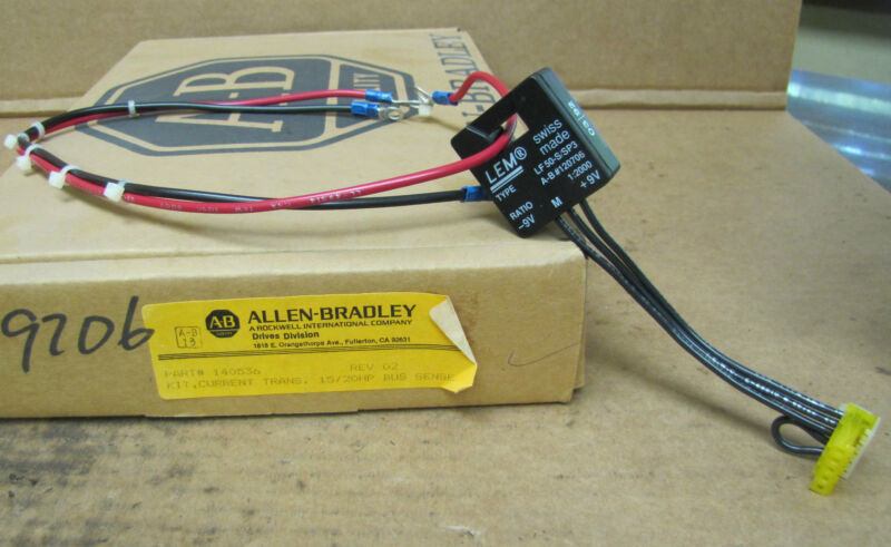 Allen Bradley Current Transducer Kit 140536 Transducer Module LF 50-S/SP3 New