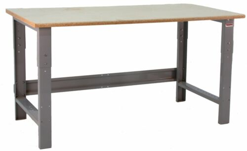 """BenchPro R Series Particle Board Top 24""""D x 60""""W Production Work Table"""