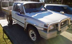 1998 Ford Courier Ute Super Cab 4x4 - aluminium tray, dual fuel Shell Cove Shellharbour Area Preview