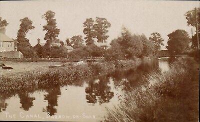 Barrow on Soar near Quorn & Loughborough. The Canal.