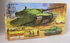 Repro Box Matchbox Battle Kings K 103 Chieftain Tank