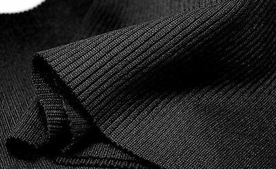 15 x 80 cm Elastic rib knit fabric*cuffs*waistband knitted fabric*trim*jersey