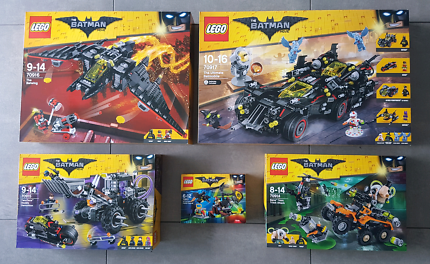 Batman Lego 70917 +70916 +70915 +70914 +70913 Ultimate, Batwing