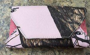 Pink Camo Mossy Oak Wallet