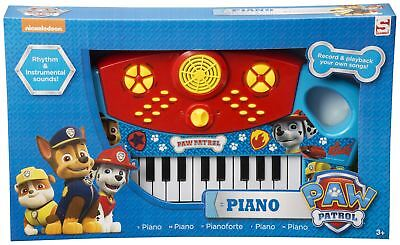 Paw Patrol Large Electronic Piano Muisical Instrument Keyboard Kid Childrens Toy