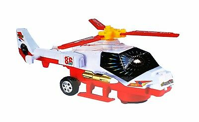 Kinder Spielzeug Heli Helikopter Helicopter Auto Selbstfahrend LED Licht & Sound