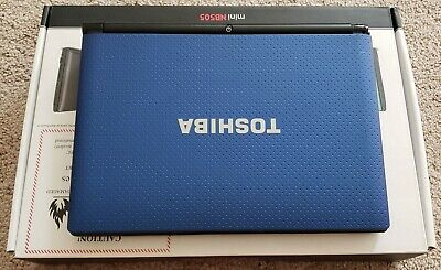 - Toshiba - Mini Notebook NB505 N500BL Blue Pre-owned laptop Windows 7 ()