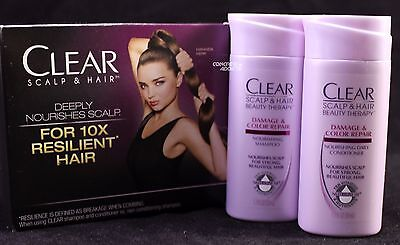 Clear Scalp & Hair Beauty Damage & Color Repair Therapy Shampoo Conditioner for sale  Shipping to India