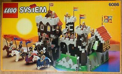 Vintage Lego Castle 6086 Black Knight's Castle New in Box. READ DESCRIPTION