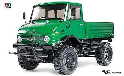 Tamiya 1:10 RC Mercedes Benz Unimog 406 CC-01 Chassis Bausatz 58457