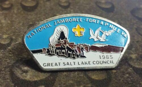 Great Salt Lake Council 1985 National Jamboree BSA pin badge Boy Scouts