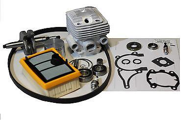 Piston Cylinder Rebuild Overhaul Kit For Stihl Ts800 Cutoff Saw W Crankshaft