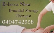 Rebecca Shaw Massage Therapist St Andrews Campbelltown Area Preview