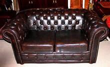 Exquisite Chesterfield 2 Seat - (Cigar Brown) Wurtulla Maroochydore Area Preview