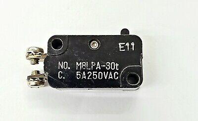 Mulon M8lpa-30t Spst- Off-on Micro Switch 5a 250v Ac