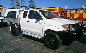 2007 Toyota Hilux Extra Cab Chassis 4x4 Turbo Diesel Manual Kallangur Pine Rivers Area Preview