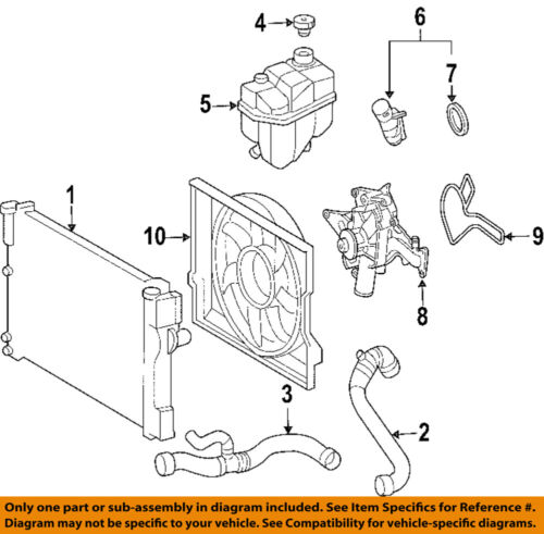 MERCEDES OEM 05-06 E320-Engine Water Pump Gasket 6112030380 | eBay