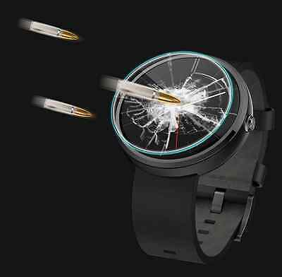 Authentic Tempered Glass Screen Protector Cover For Motorola Moto 360 SmartWatch