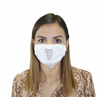 Mund-Nasen-Maske - Schön, dass es dich gibt (*NEU*) - Schutz gegen Infektionen