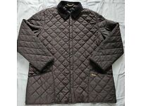 Barbour Eskdale Mens Jacket Size XL Black hardly worn