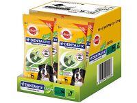 BNIB Pedigree DentaStix Fresh Dog Chews for Large Dog 70 pk