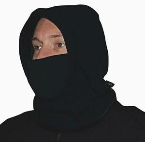 NEW POLAREX FLEECE HOOD Ski Mask, Balaclava, Toque, Scarf, Facemask --  EXTREME WEATHER PROTECTION