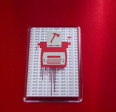 The Shining inspired Typewriter Fridge Magnet