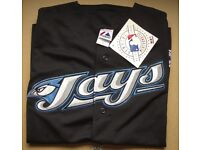 Authentic Toronto Blue Jays short sleeve jersey. Baseball brand new with tags