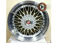 "19"" Brand New Calibre Vintage alloys, 5x112, 5x100 multifit."