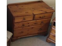 Westminster Pine 4 Drawer Chester