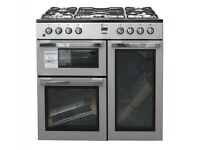 Flavel 90cm duel fuel range cooker. RRP £699 price £550 new in package 12 month Gtee